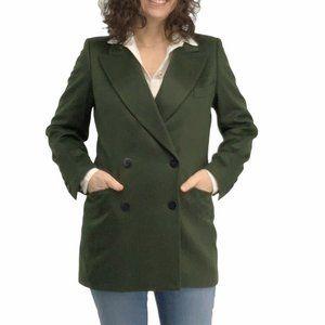 Vintage Escada Green Cashmere Blazer